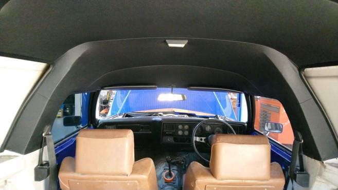 HX sandman panelvan headlining