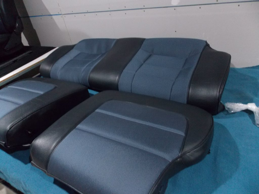 Torana UC hatchback rear seat