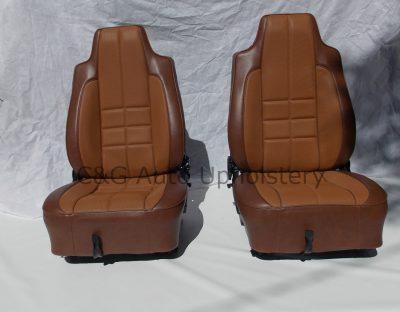 Torana 67 Hatchback TAN seats