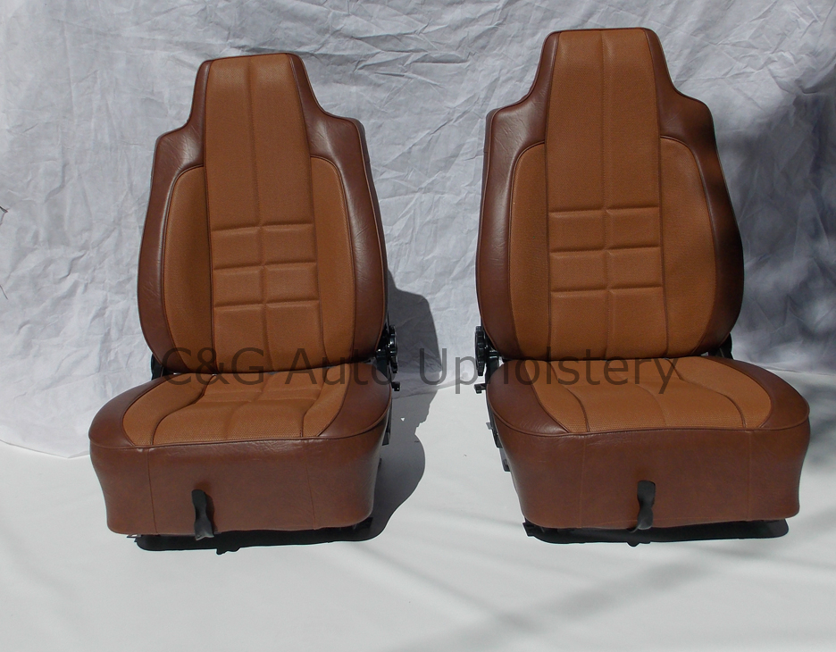 Torana 67 Hatchback TAN seats